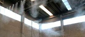 Control de polvo y olores